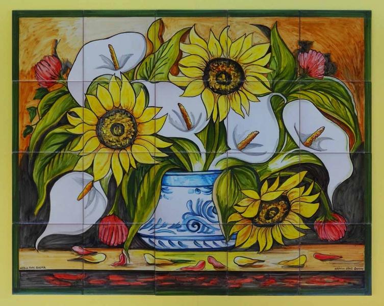 Bodegones De Ceramica Murales De Ceramica Tiles And Murals Of